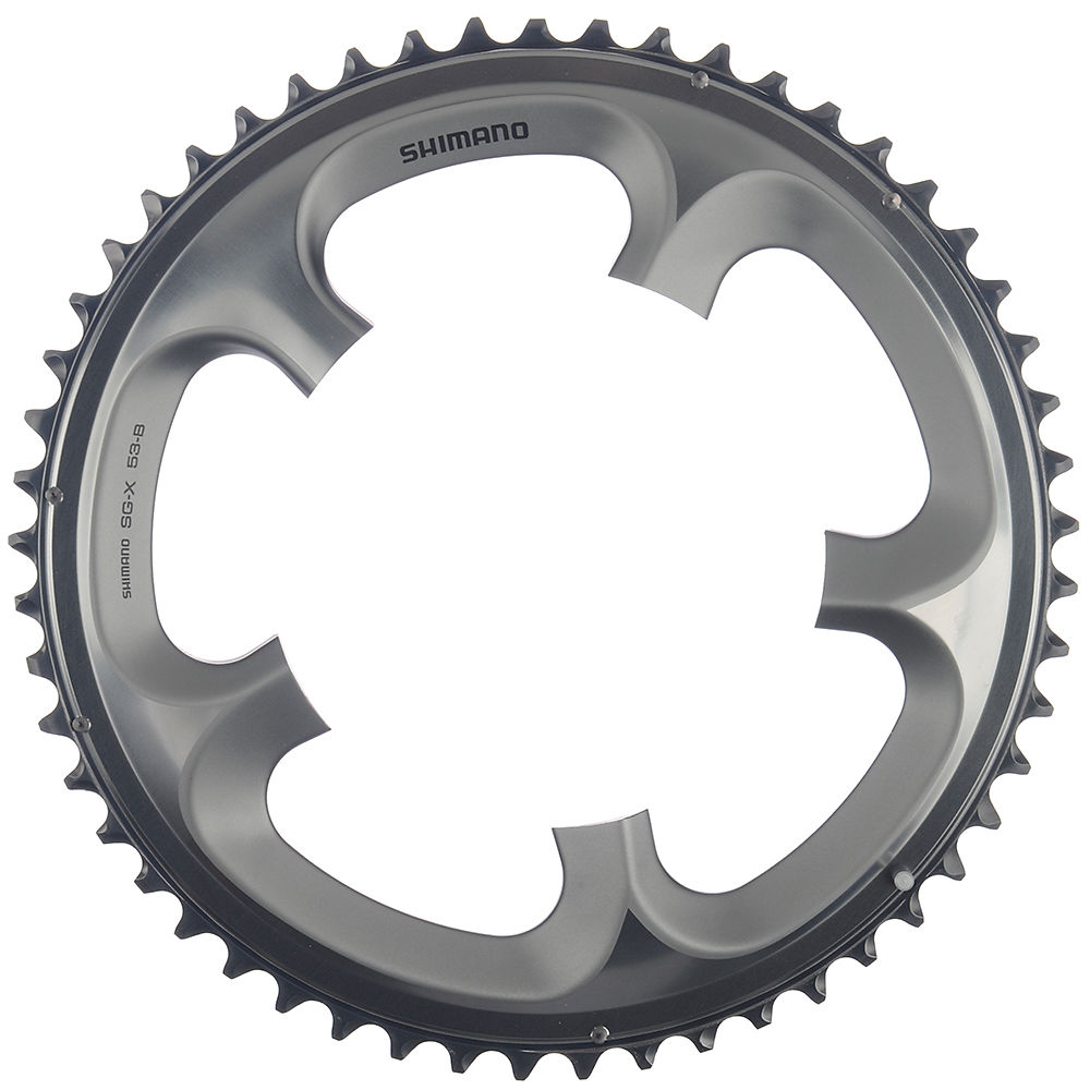 Shimano Ultegra FC6700 10 Speed Double Chainring - Silver - 130mm, Silver