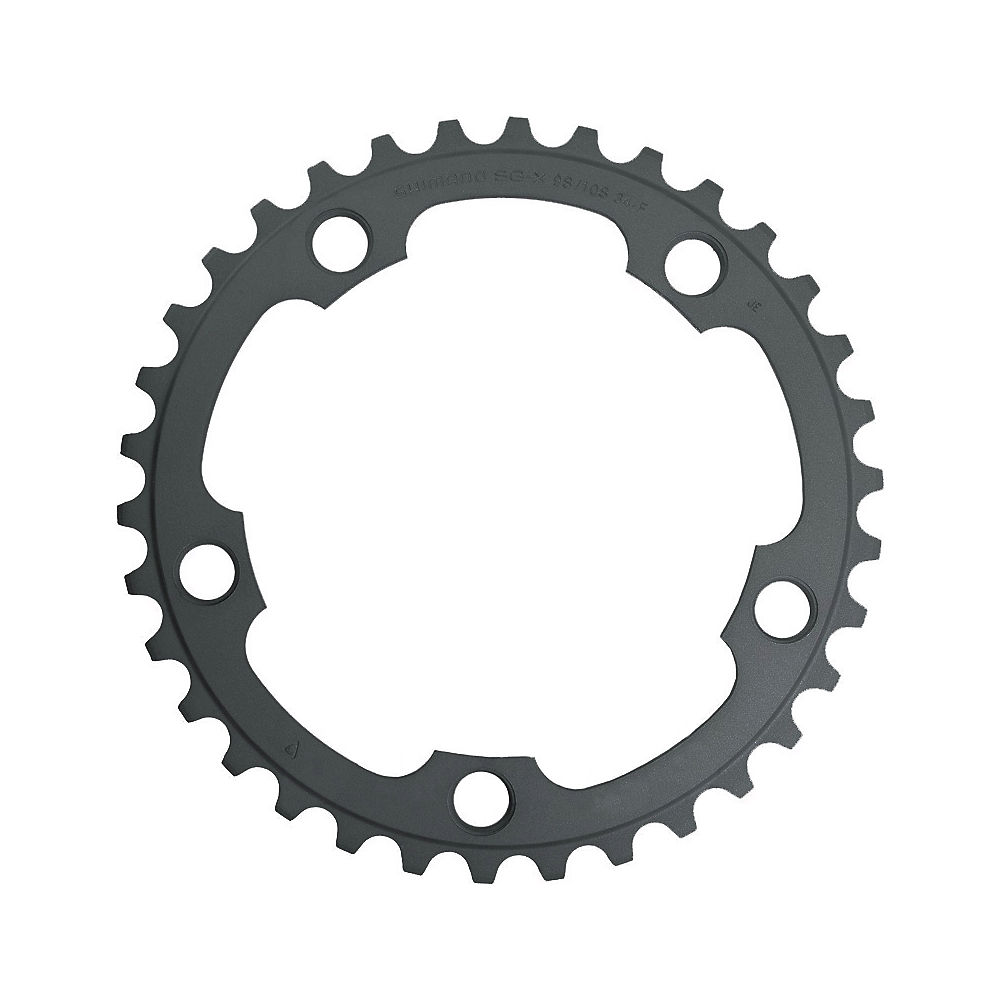 Shimano 105 FC5750 10 Speed Compact Chainrings - Black - 110mm, Black