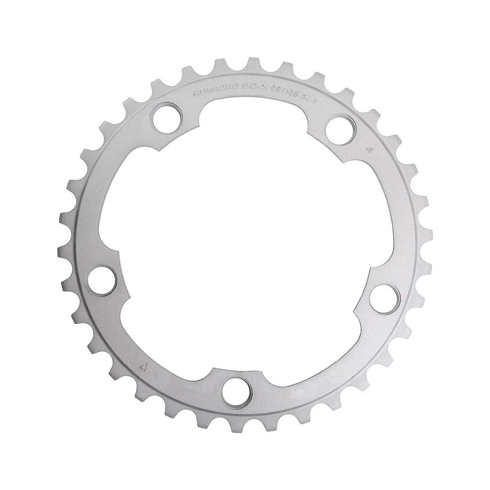 Shimano 105 FC5750 10 Speed Compact Chainrings - Silver - 110mm, Silver