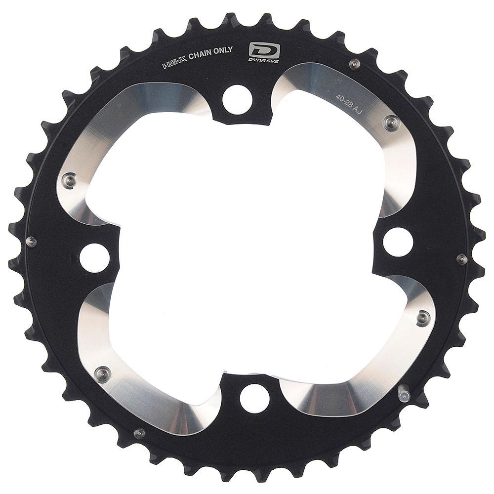 Shimano Xt Fcm785 10 Speed Mtb Chainring - Black - Aj Type - For 40.28t  Black