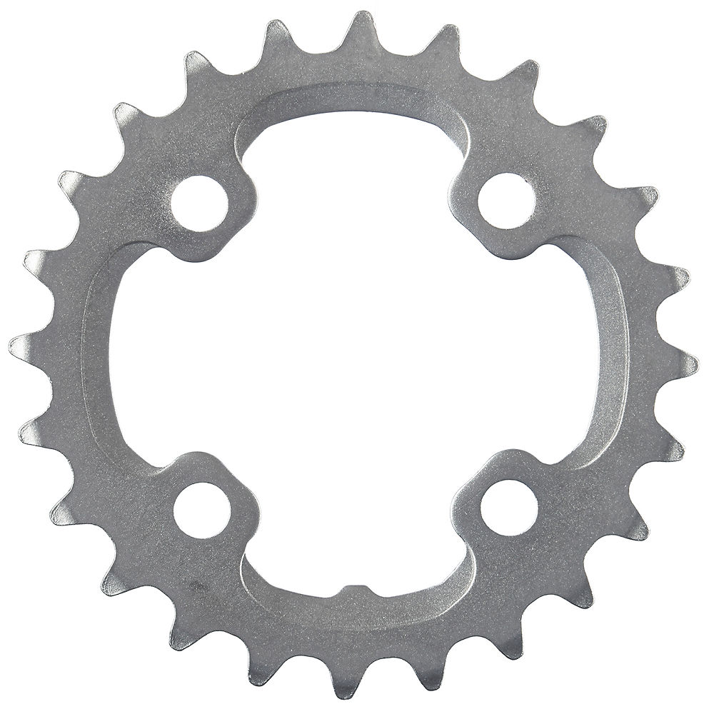 Shimano XT FCM785 10 Speed MTB Chainring - Silver - AM Type - For 38.24t, Silver