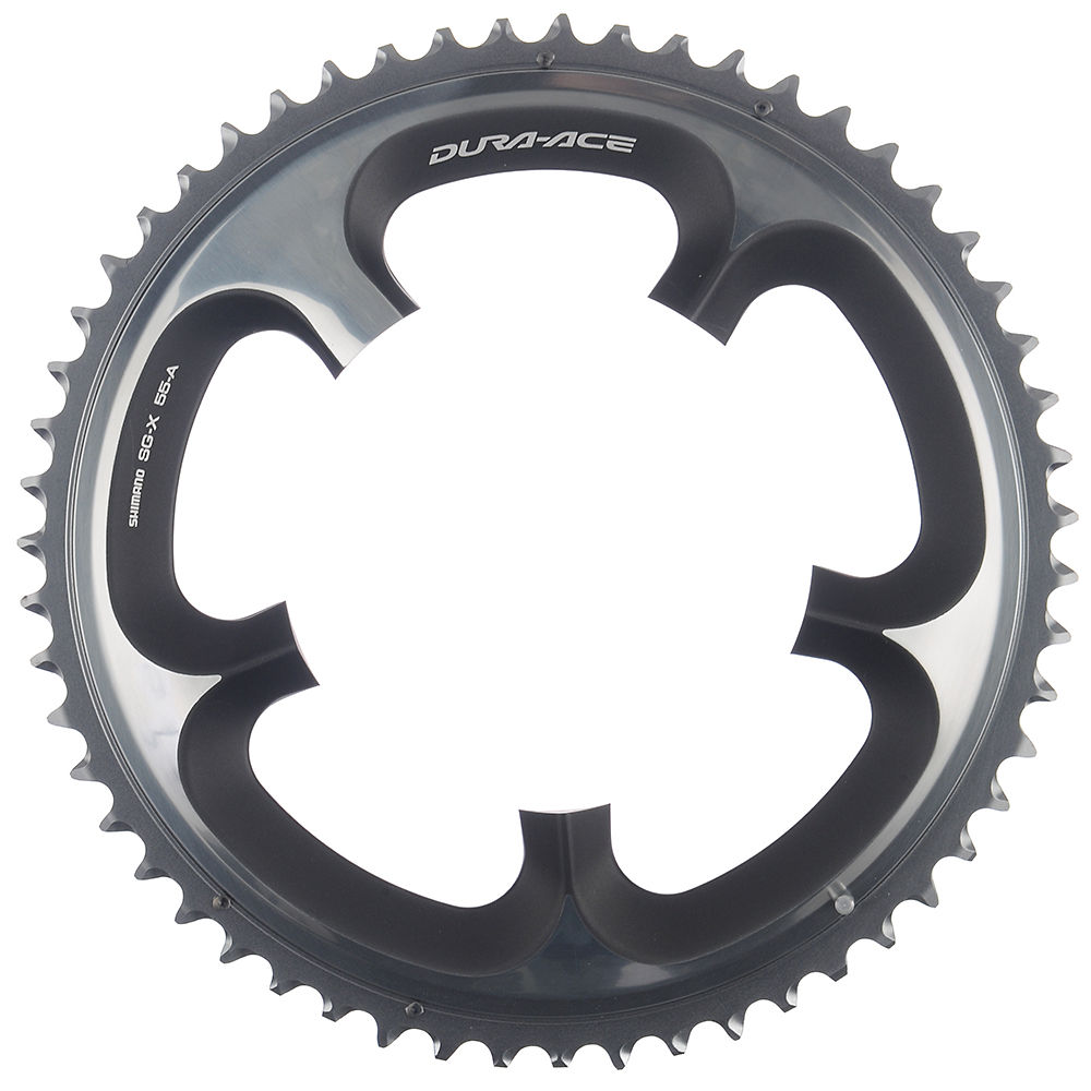 Shimano Dura-ace Fc7900 10sp Double Chainrings - Silver - 55t  Silver
