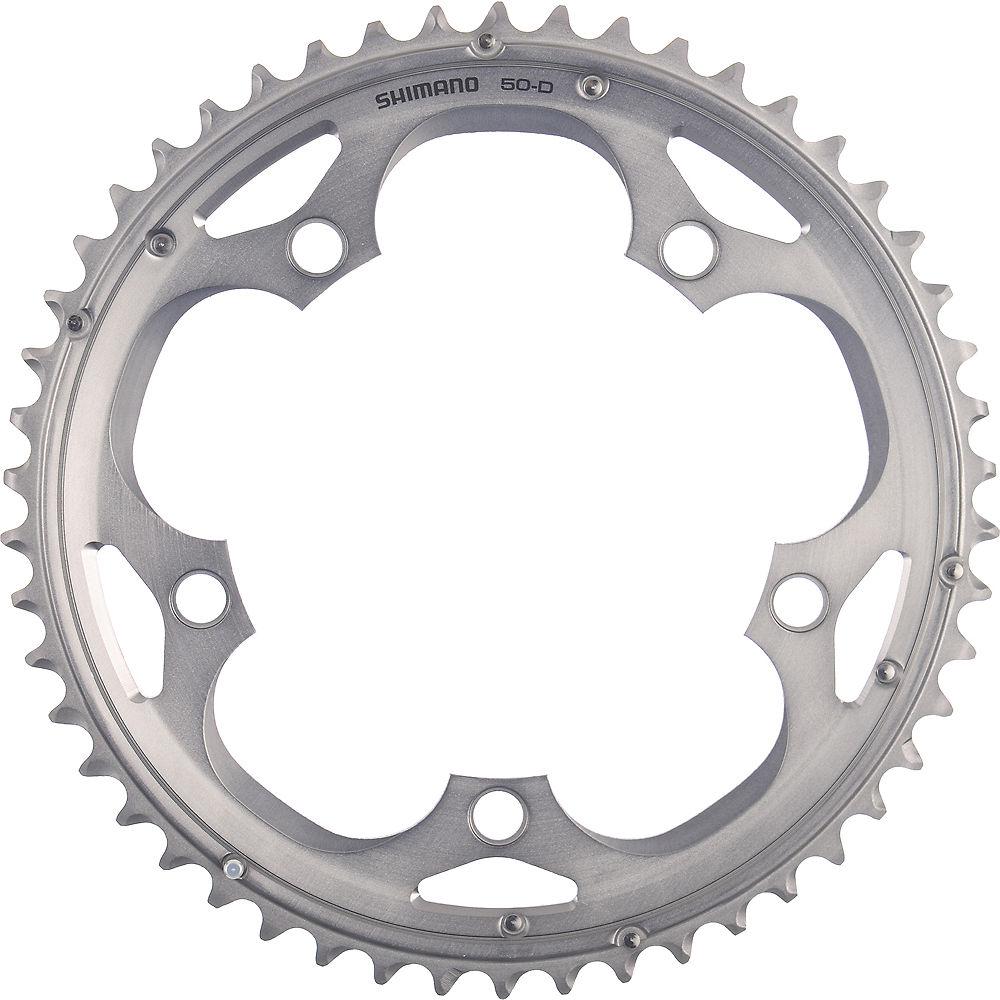 Shimano 105 FC5703 10 Speed Triple Chanrings - Silver - 130mm, Silver