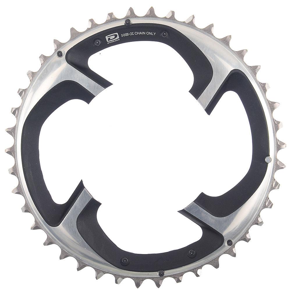 Shimano Xtr Fcm980 10 Speed Triple Chainrings - Silver - 4-bolt  Silver