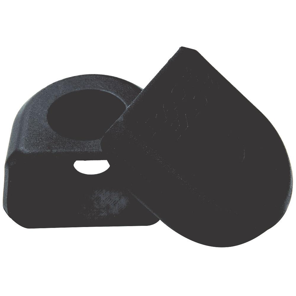 Race Face Crank Boots (alloy Cranks) - Black - Pair  Black