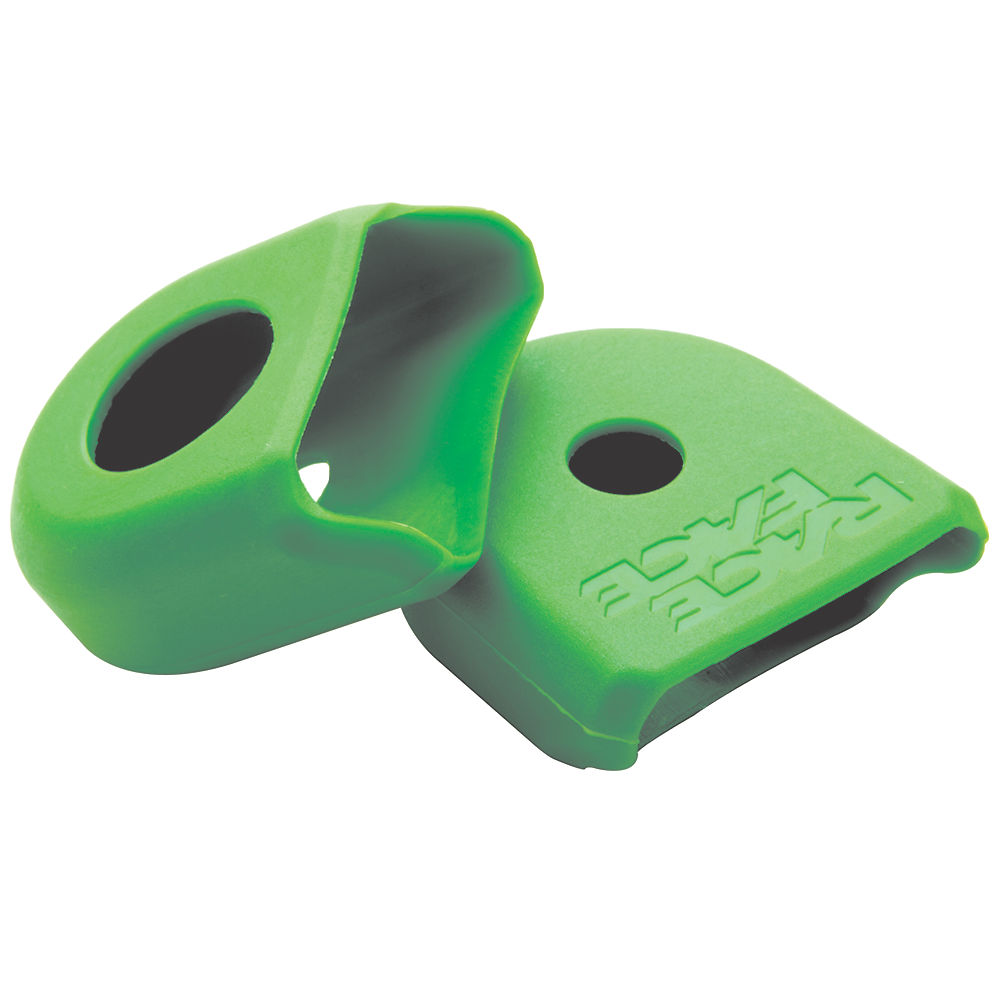 Race Face Crank Boots (alloy Cranks) - Green - Pair  Green