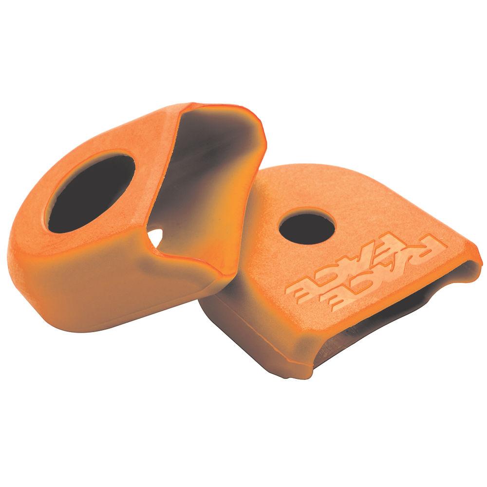 Race Face Crank Boots (alloy Cranks) - Orange - Pair  Orange
