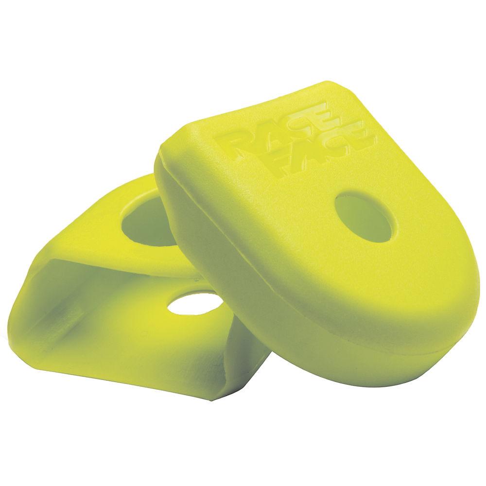 Race Face Crank Boots (alloy Cranks) - Yellow - Pair  Yellow
