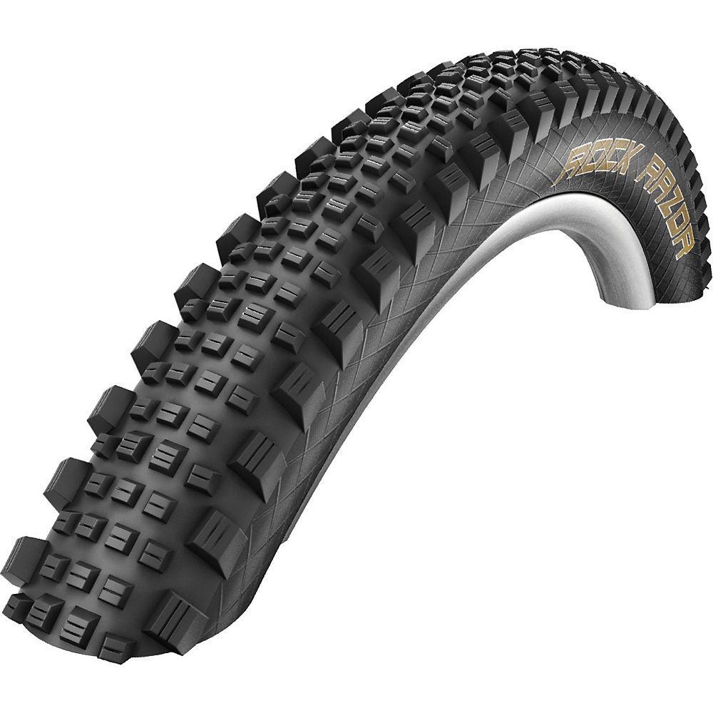 Schwalbe Rock Razor Evo MTB Tyre - Super Gravity - Black - Folding Bead, Black