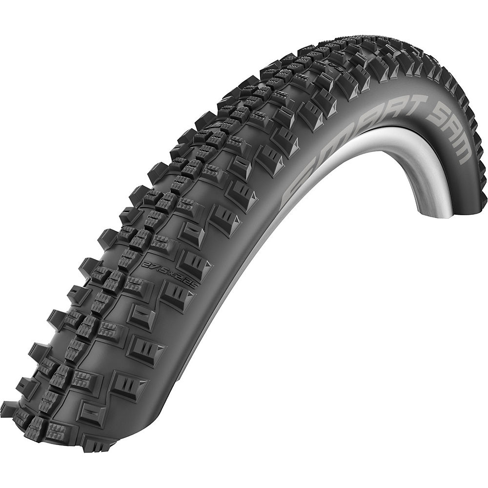 Schwalbe Smart Sam Plus Greenguard MTB Tyre - Black - Wire Bead, Black