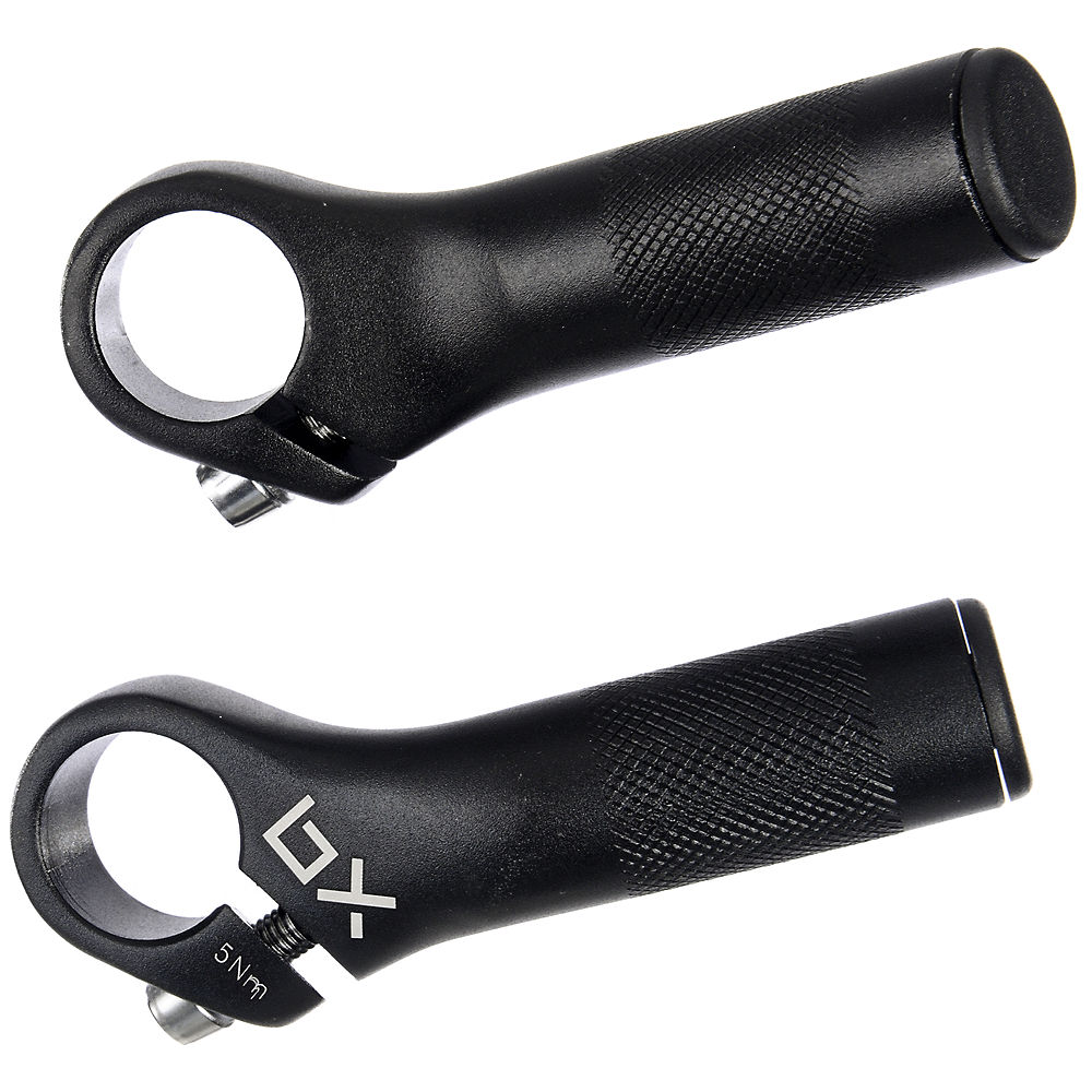 Image of Embouts de cintre Brand-X Stubby - Noir - Straight, Noir