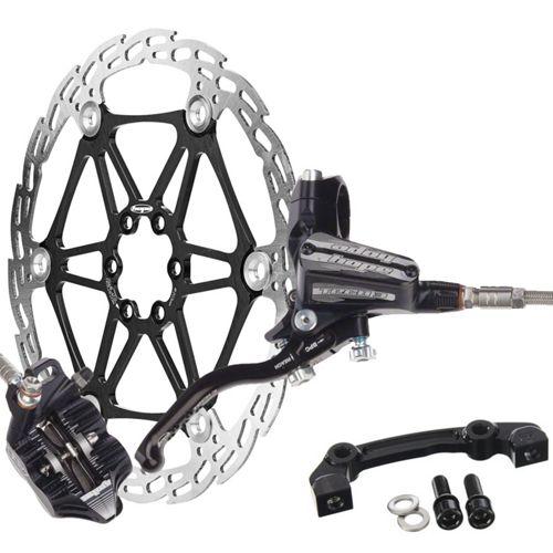 Hope Tech 3 Tech3 E4 MTB Mountain Bike Disc Brakes FULL Brakeset 183MM Rotors
