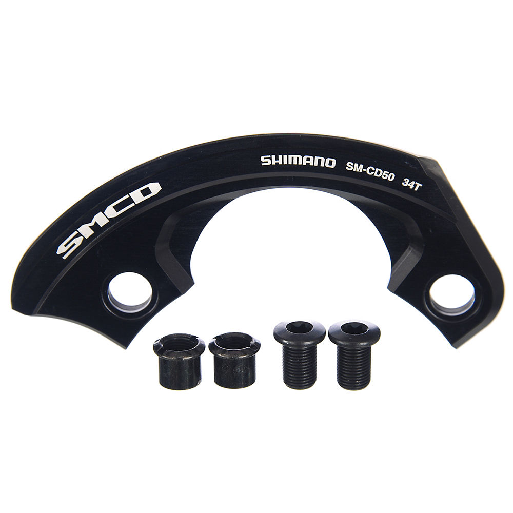 Shimano Saint Cd50 Chain Guard - Without Guide - Black - 36t  Black