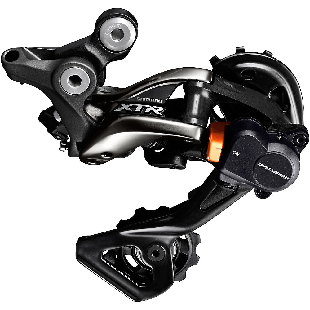 Shimano XTR M9000 11sp Rear Derailleur – Black – Medium Cage, Black