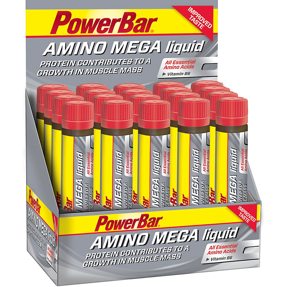 Image of Ampoules PowerBar Amino Mega Liquid - 20 x 25ml, n/a