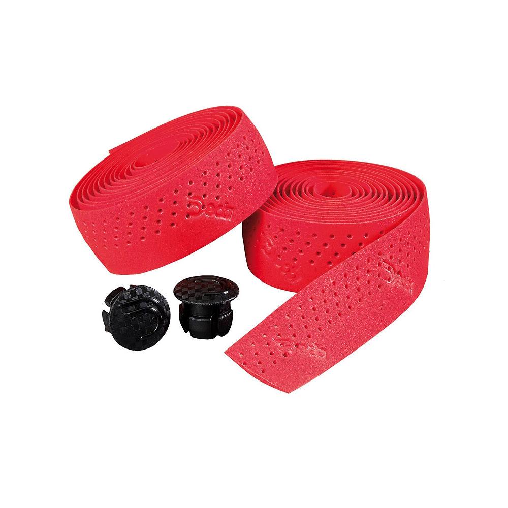 Nastro Manubrio Perforated Deda Elementi rosso, rosso