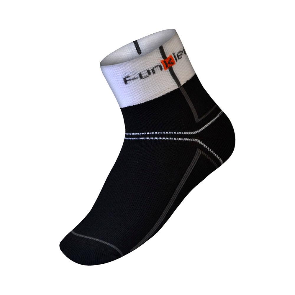 Funkier Lorca Winter Thermal Socks - Black - White - L/xl  Black - White