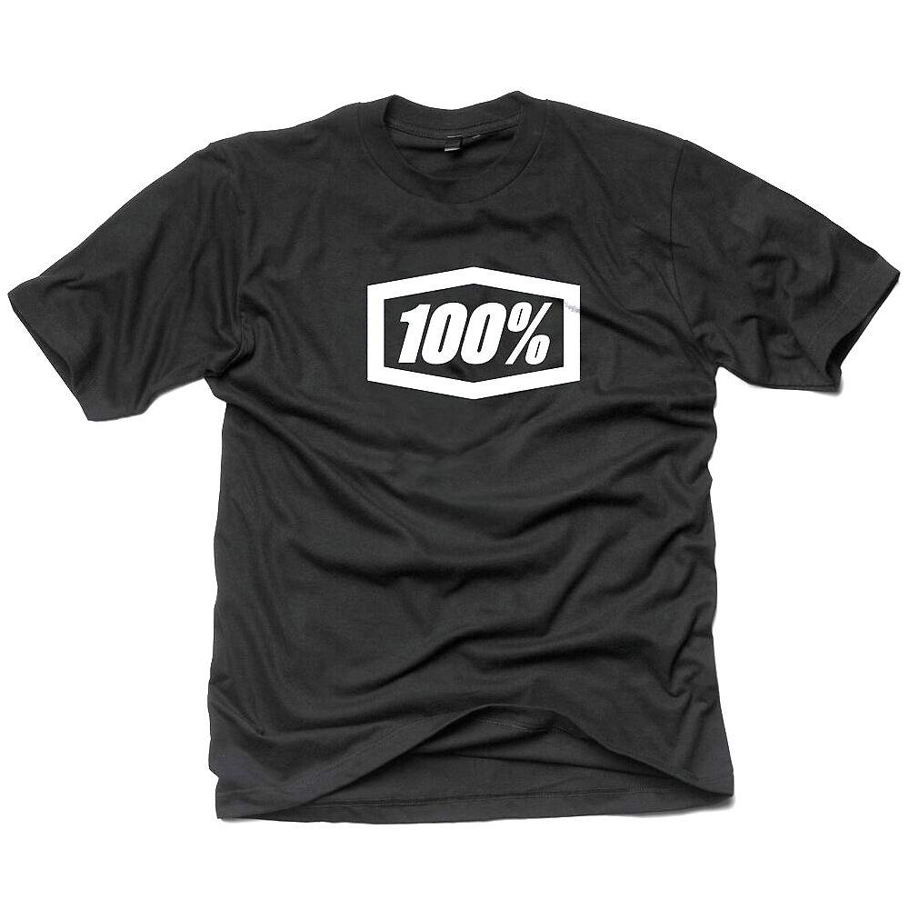 100% Essential Tee  - Black - XL, Black