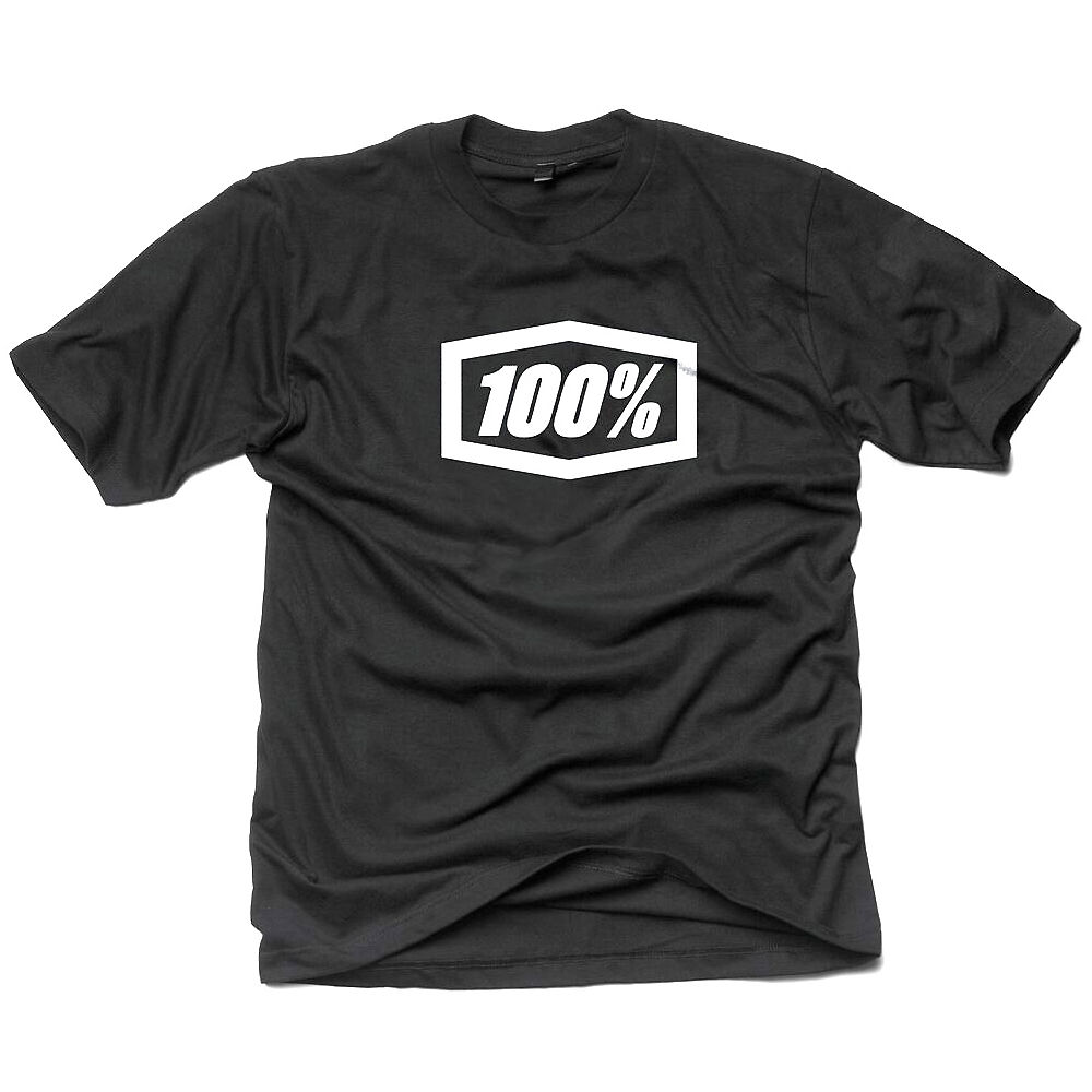 100% Essential Tee  - Black  Black