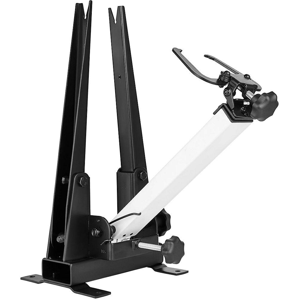 Lifeline Pro Mechanic Wheel Truing Stand - Black-silver  Black-silver