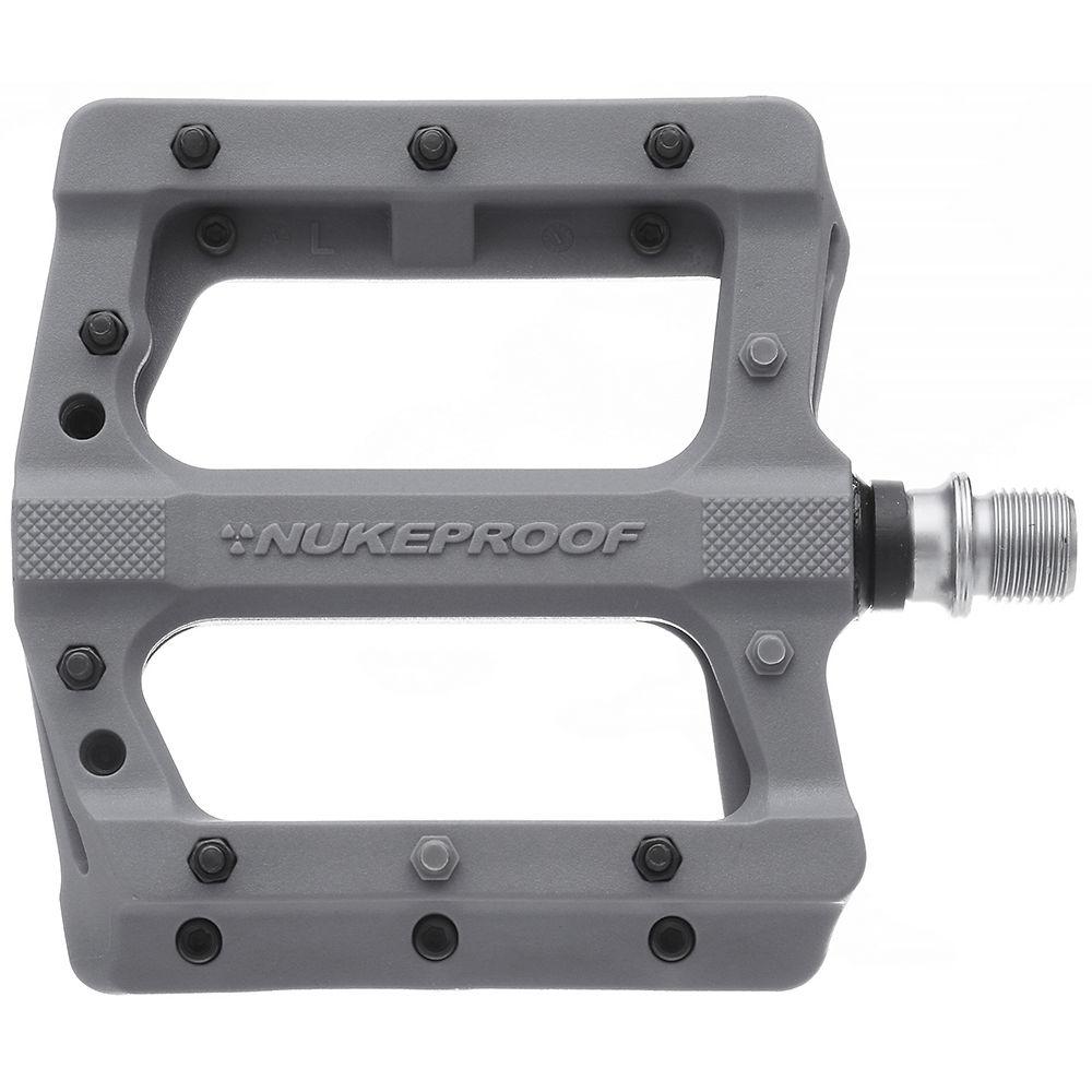 Nukeproof Neutron Evo Flat Pedals - Grey  Grey