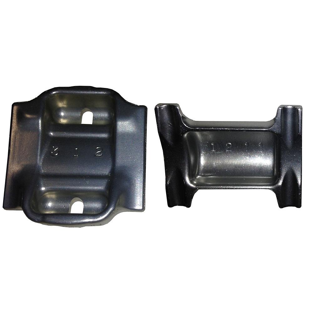Image of Collier de serrage pour rails surdimensionnés Thomson - Argent