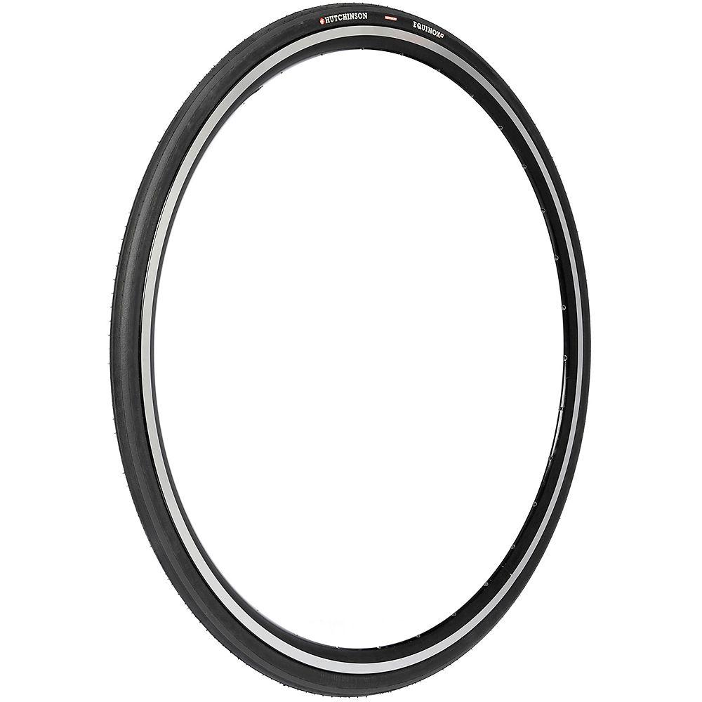 Image of Hutchinson Equinox II Reinforced Road Bike Tyre 2017 - Black - Folding Bead, Black