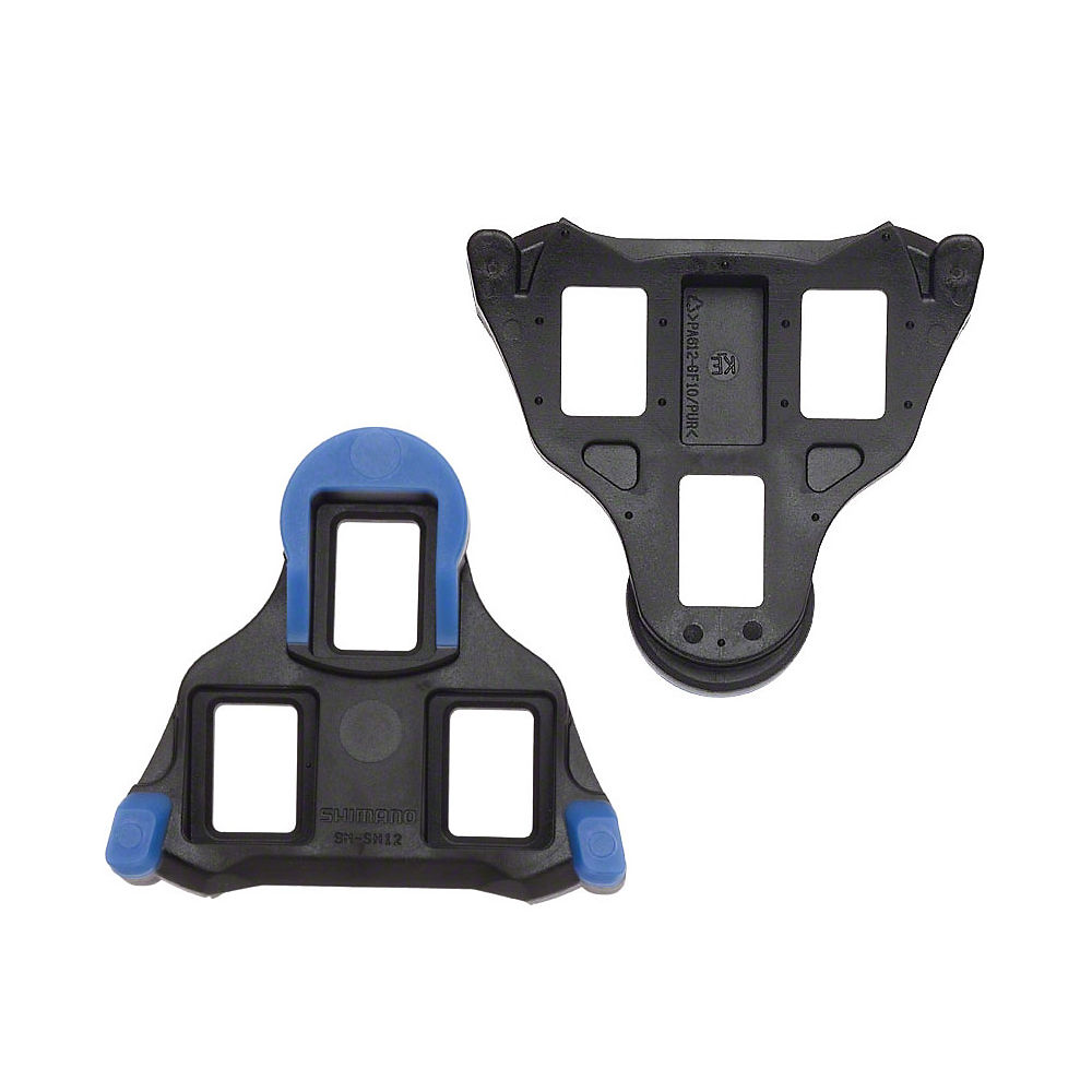 Shimano SH12 Cleats - Black - Blue - For Dura-Ace 9000 Pedals, Black - Blue