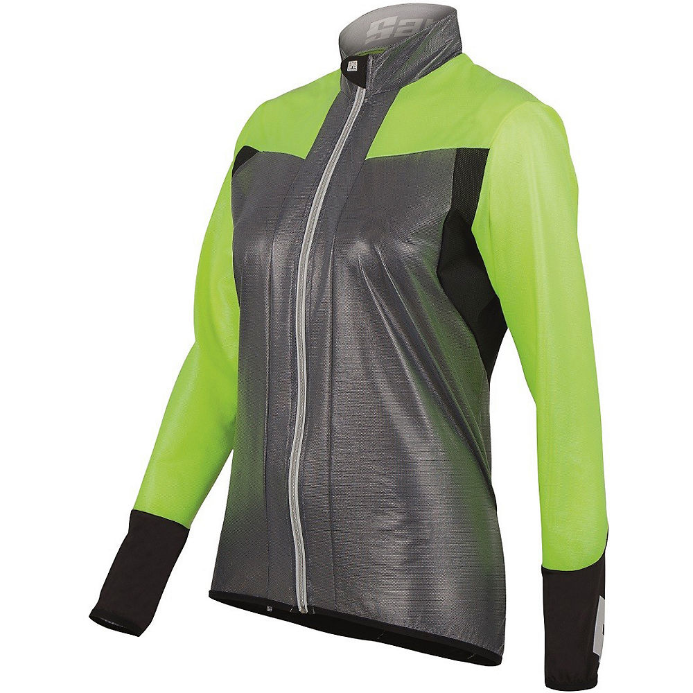 Image of Coupe-vent Femme Santini Velo - Transparent Yellow - XL