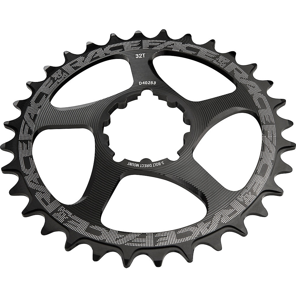 Race Face Direct Mount Sram Narrow Wide Chainring - Black - 34t  Black