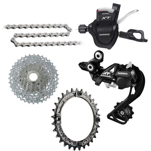 12bb63575d0 Shimano XT 1x10sp Gear Kit Bundle | Chain Reaction Cycles