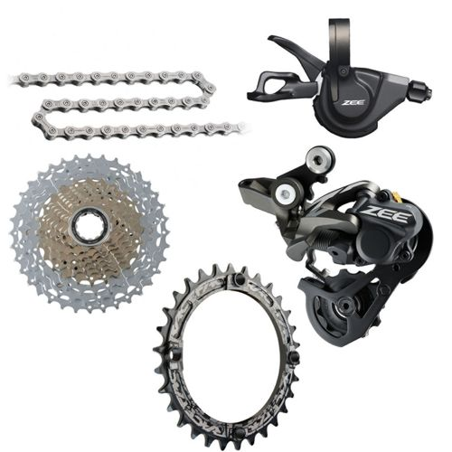 adcb6b351b4 Shimano Zee 1x10sp Gear Kit Bundle | Chain Reaction Cycles