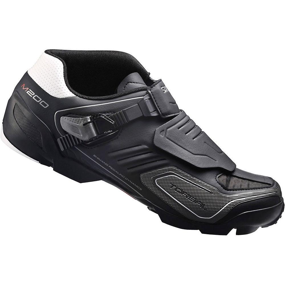 Shimano M200 MTB SPD Shoes 2016 - Black - EU 40, Black