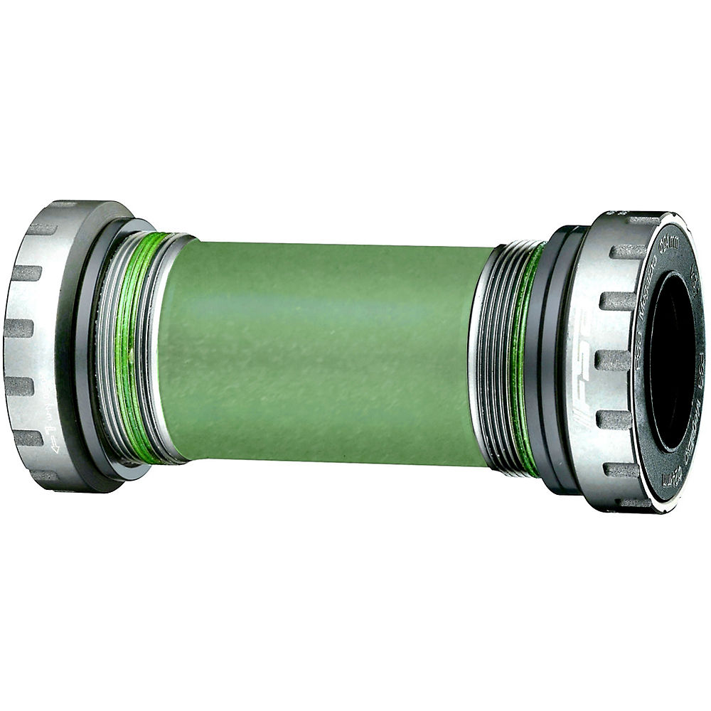 FSA MegaExo MTB Bottom Bracket (BB-9050) - Silver - 68/73mm - English Thread, Silver