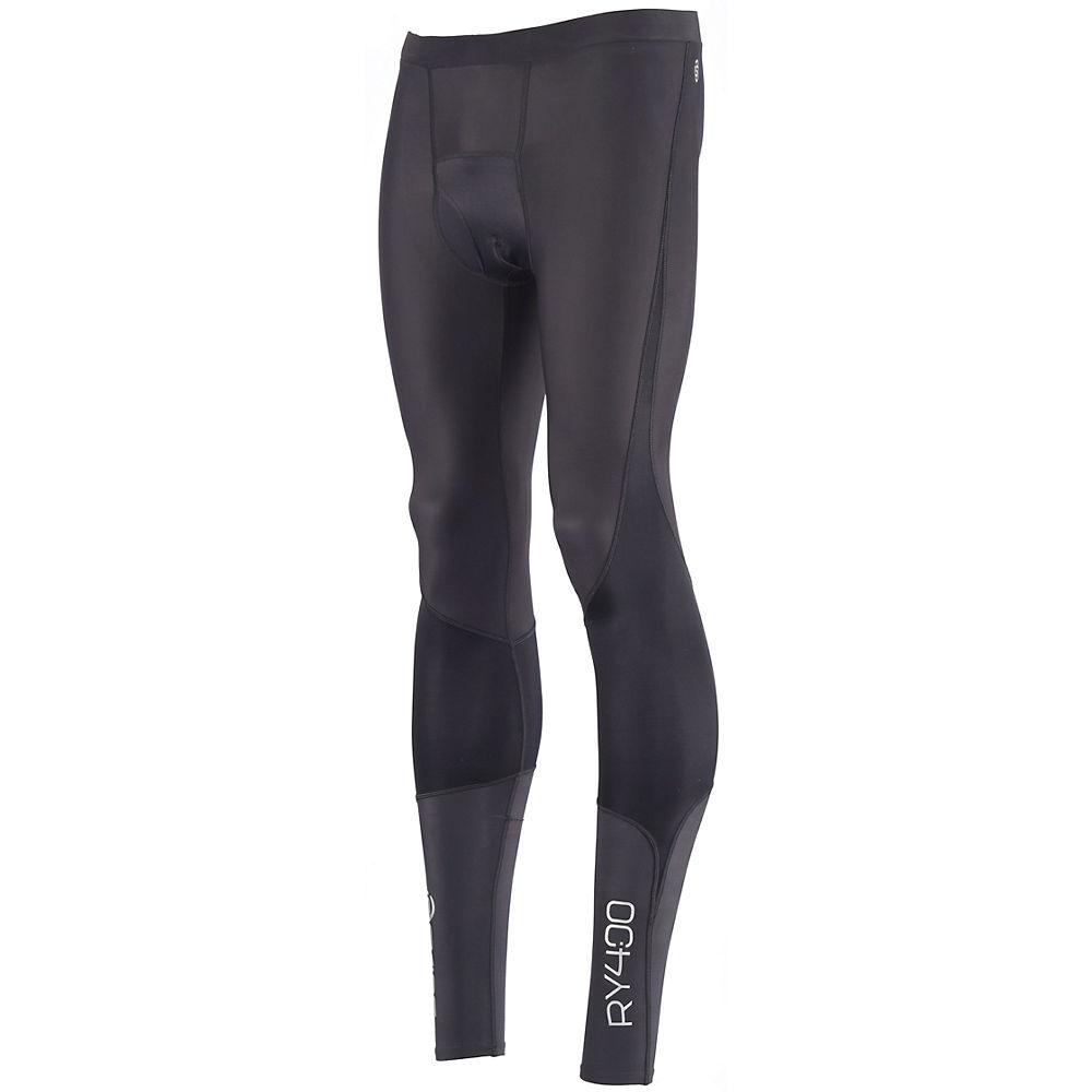 Image of Collant Skins RY400 - Noir - Argent - XS, Noir - Argent