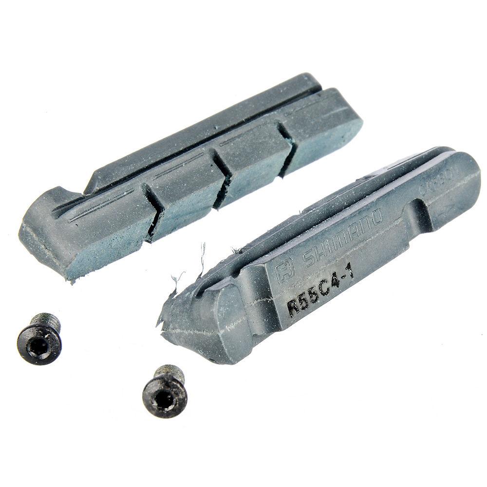 Shimano Dura-Ace-Ultegra-105 Carbon Brake Pads - Black - Pair - Standard Carbon Rim, Black