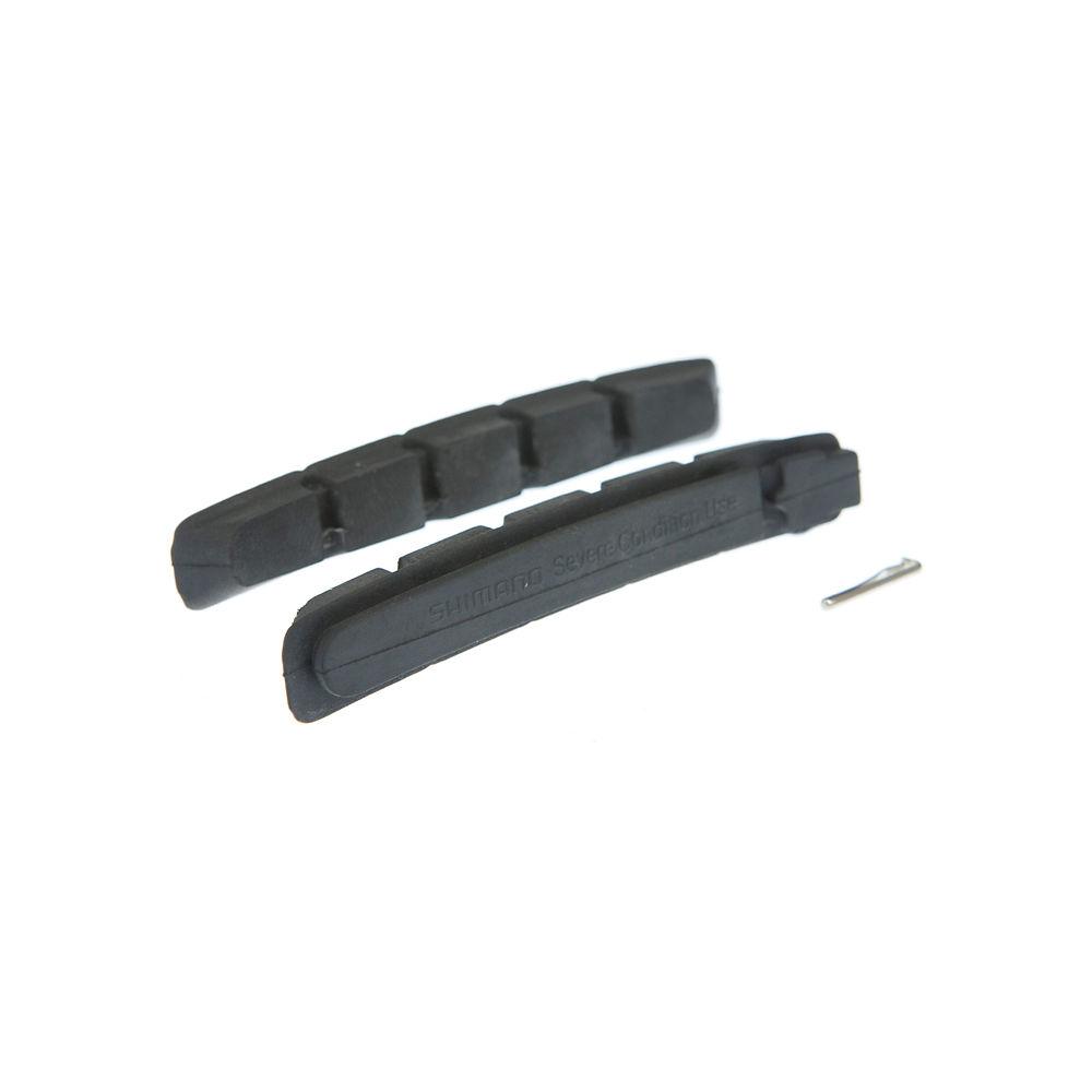 Shimano XTR-XT-LX-Deore-DXR (M70CT4) Brake Pads - Black - Pair - Severe Compound, Black