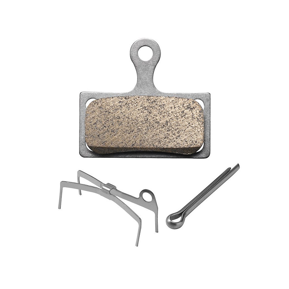 Shimano G04Ti Metal Disc Brake Pads - Metal - Ti Plate
