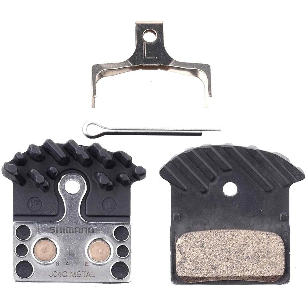 Shimano J04C Metal Disc Brake Pads - Metal - Radiator Fin