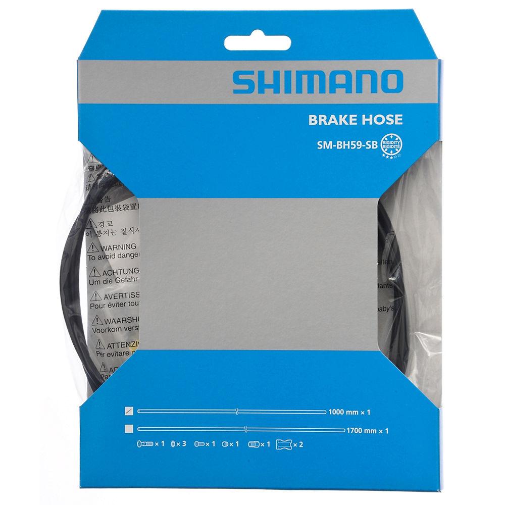 Shimano BR-R785 (BH59) Road Disc Brake Hose - Black - Rear, Black