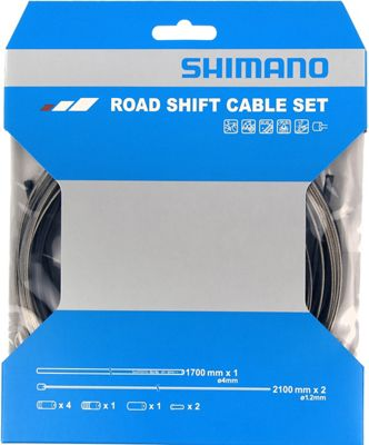 Shimano SP41 Gear Shift Outer Casing 4mm Cable GREY Teflon lined Sold Per Metre