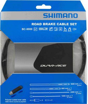 Shimano Dura-Ace 9000 Road Brake Cable Set - Black, Black | bremsekabel