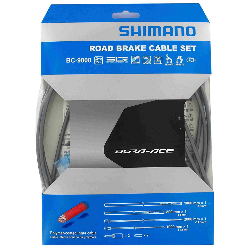 Shimano Dura-Ace 9000 Road Brake Cable Set - High-tech Grey, High-tech Grey