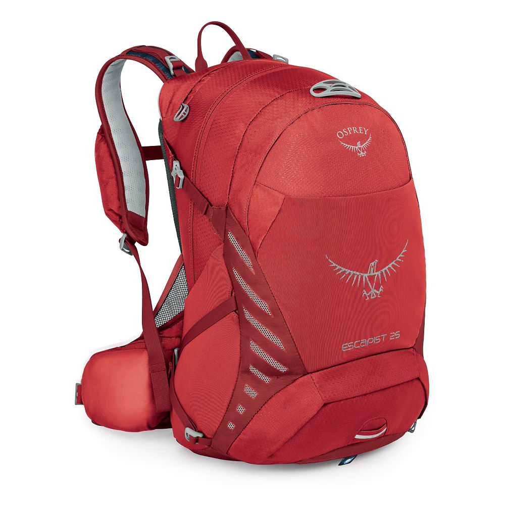 Osprey Escapist 25 Backpack – Cayenne Red – M/L, Cayenne Red