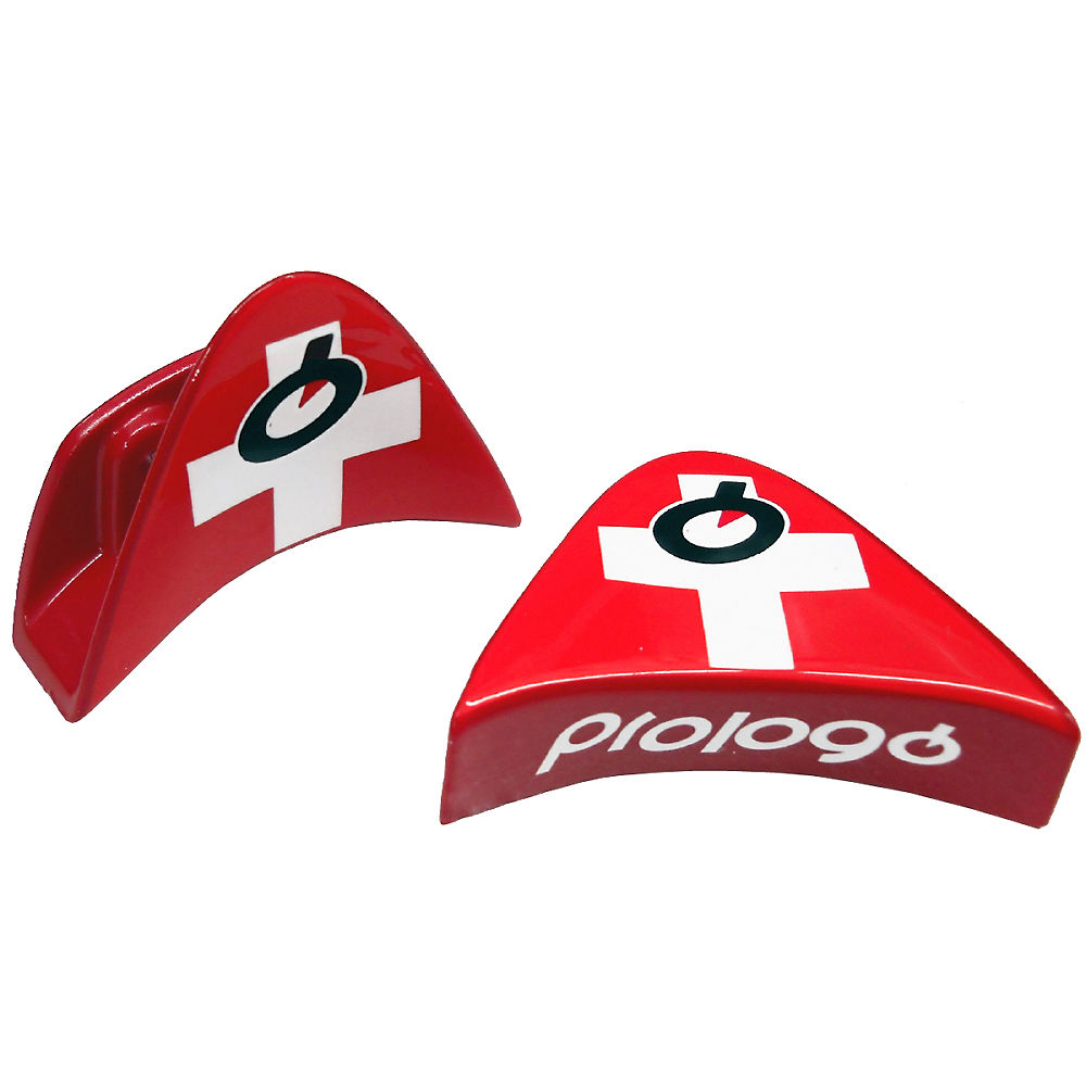 Image of Fixation de selle PROLOGO World U - Drapeau suisse, Drapeau suisse