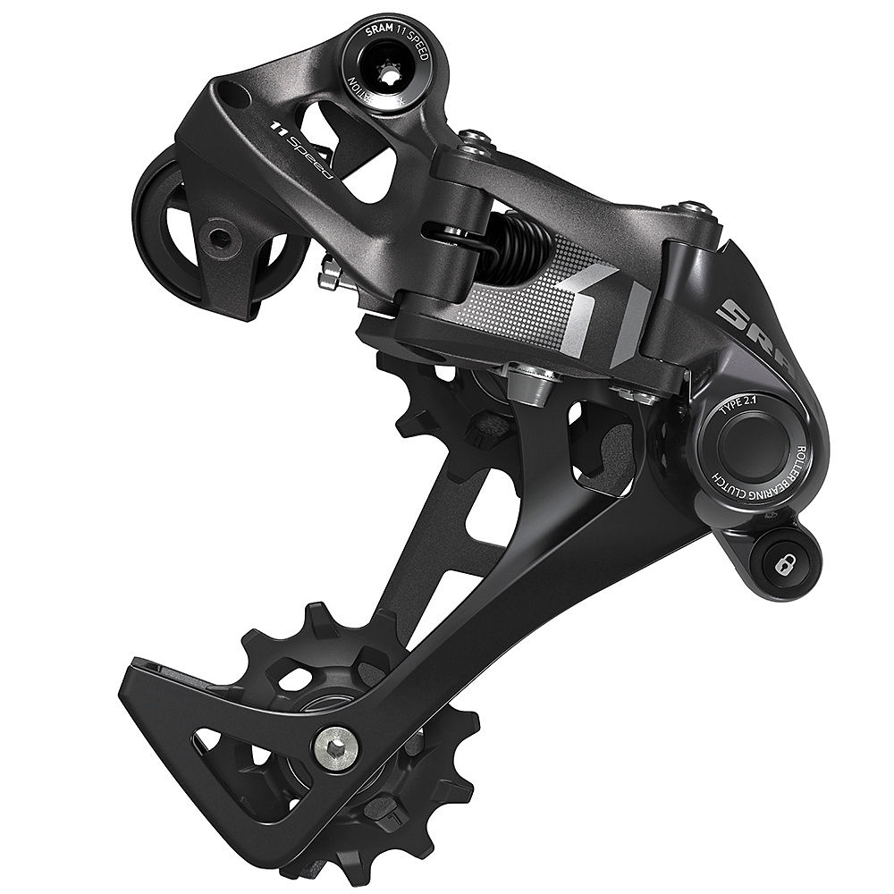 SRAM X1 Type 2.1 11sp Rear Derailleur – Black, Black
