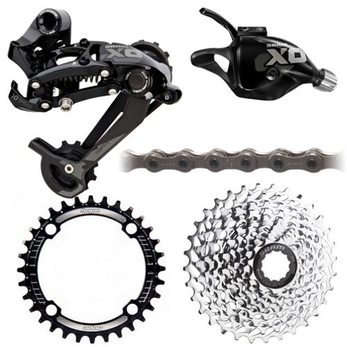 612dc713947 SRAM X0 Type 1x10 Drivetrain Bundle | Chain Reaction Cycles