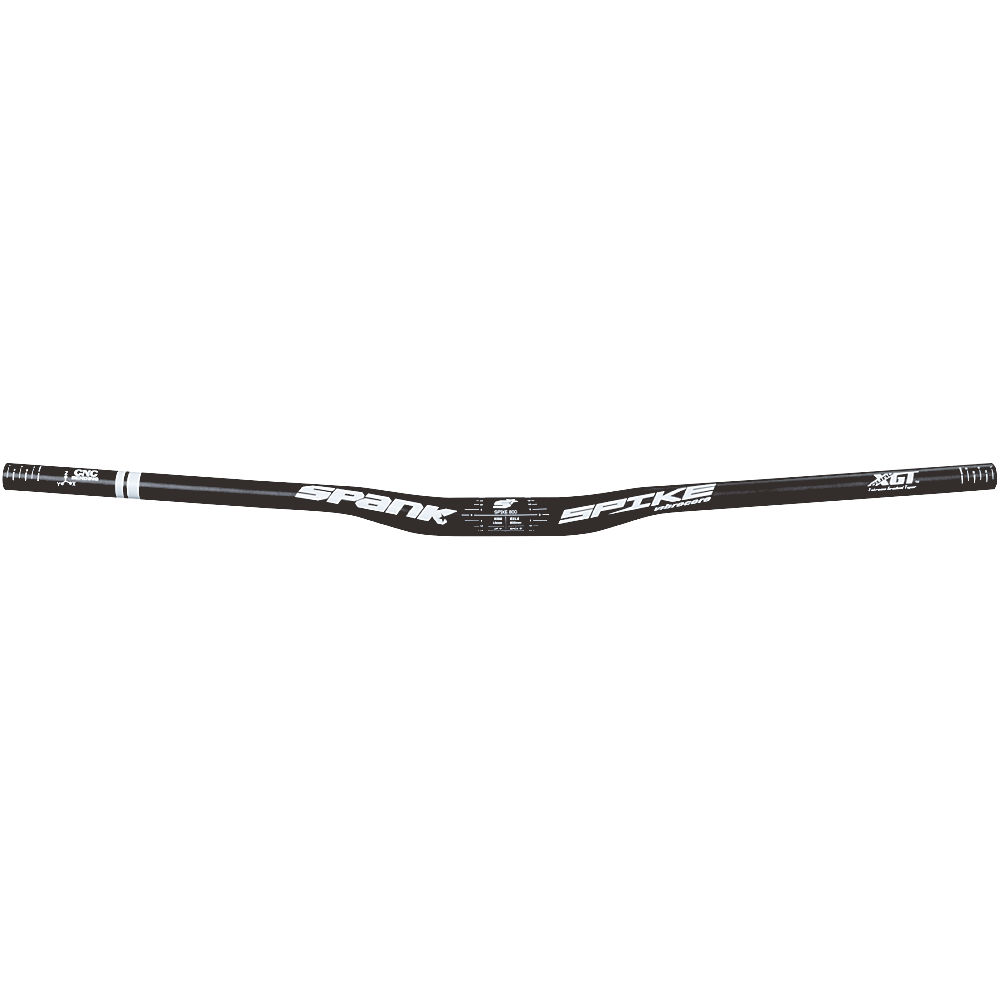 Image of Cintre Spank Spike 800 Race Vibrocore - Noir - Blanc - 31.8mm