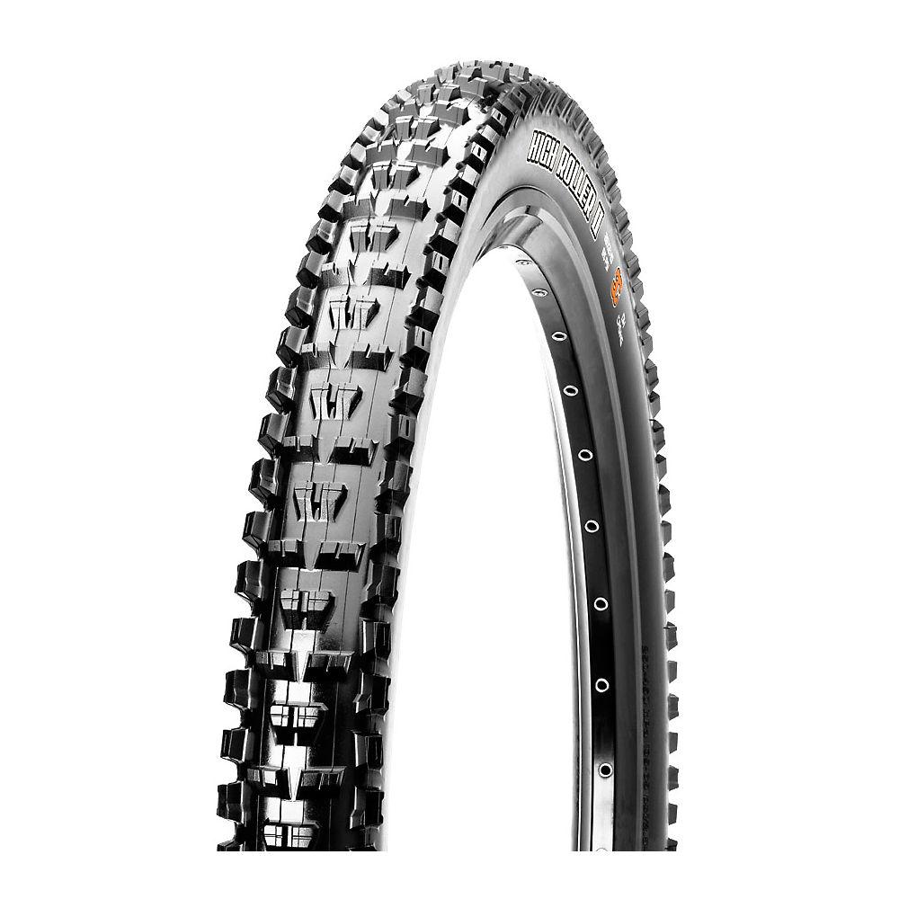 Maxxis High Roller II Tubeless Ready Bike Tyre - Black - Folding Bead, Black
