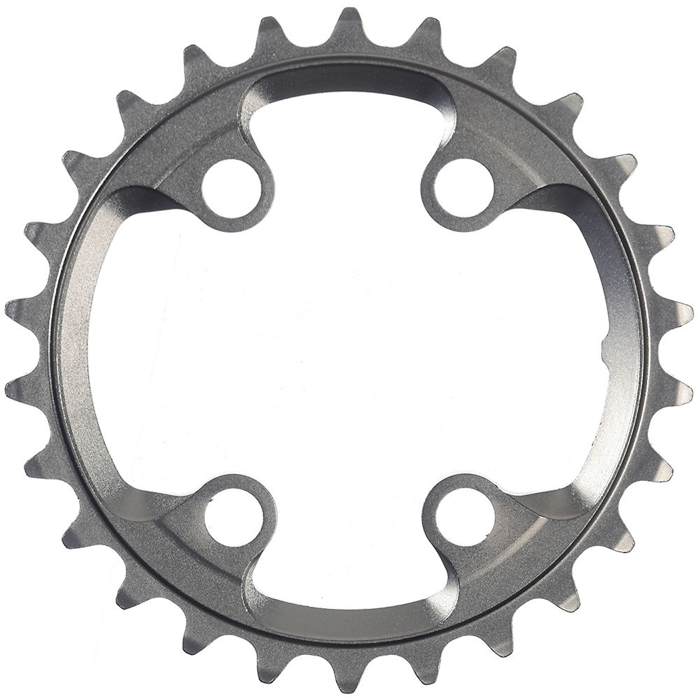 Shimano XTR FCM9000-M9020 11sp Double Chainrings - Silver - 4-Bolt, Silver
